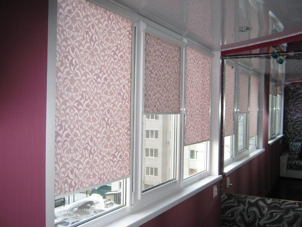 Рулонные шторы в Иркутске
