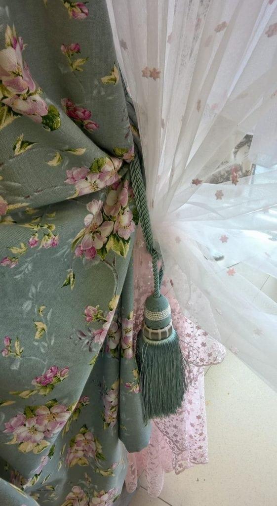 Акварель, Цветочный орнамент