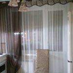 Наши работы шторы на кухню
